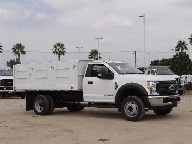 2017 F-550 Regular Cab DRW, Scelzi Landscape Dump #FH5377 - photo 7