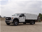 2017 F-550 Regular Cab DRW, Scelzi Landscape Dump #FH5377 - photo 1