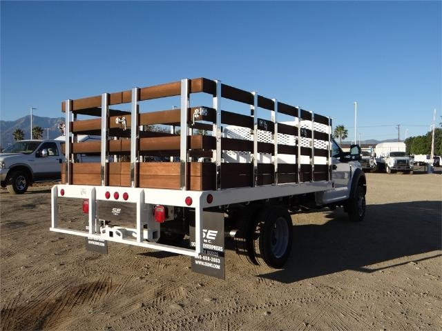 2017 F-450 Regular Cab DRW, Scelzi Stake Bed #FH6267 - photo 4