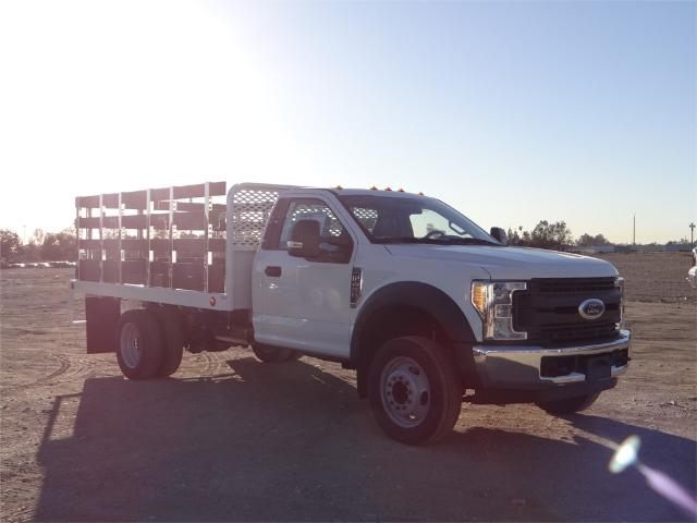 2017 F-450 Regular Cab DRW, Scelzi Stake Bed #FH6267 - photo 6
