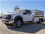 2017 F-450 Super Cab DRW, Scelzi Stake Bed #FH6270 - photo 1