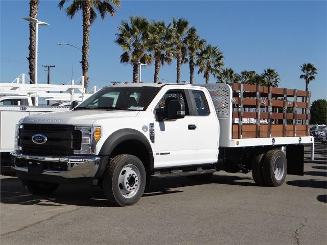 2017 F-450 Super Cab DRW, Scelzi Western Flatbed Stake Bed #FH6292 - photo 1