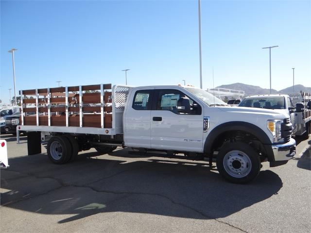 2017 F-450 Super Cab DRW, Scelzi Western Flatbed Stake Bed #FH6292 - photo 5