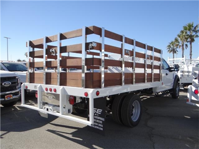 2017 F-450 Super Cab DRW, Scelzi Western Flatbed Stake Bed #FH6292 - photo 4