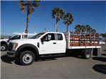2017 F-450 Super Cab DRW, Scelzi Western Flatbed Stake Bed #FH6292 - photo 3