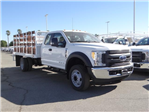 2017 F-450 Super Cab DRW, Scelzi Western Flatbed Stake Bed #FH6292 - photo 6