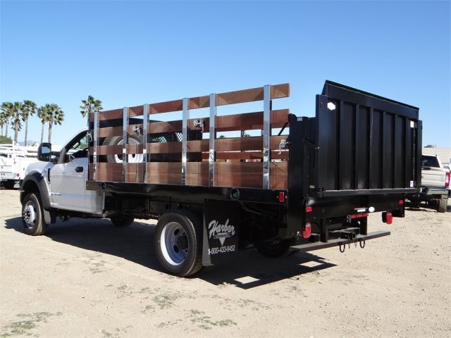 2017 F-450 Regular Cab DRW,  Harbor Stake Bed #FH6299 - photo 2