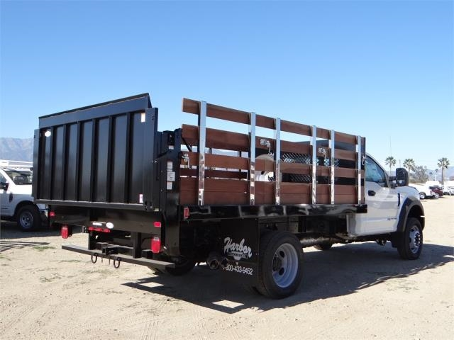 2017 F-450 Regular Cab DRW,  Harbor Stake Bed #FH6299 - photo 4