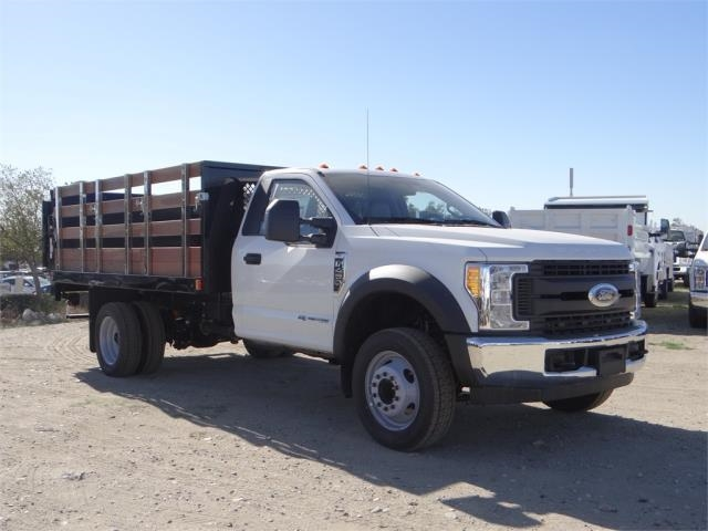 2017 F-450 Regular Cab DRW,  Harbor Stake Bed #FH6299 - photo 6