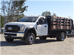 2017 F-450 Regular Cab DRW,  Harbor Stake Bed #FH6299 - photo 1