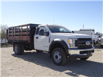 2017 F-450 Regular Cab DRW, Harbor Black Boss Stakebed Stake Bed #FH6299 - photo 6