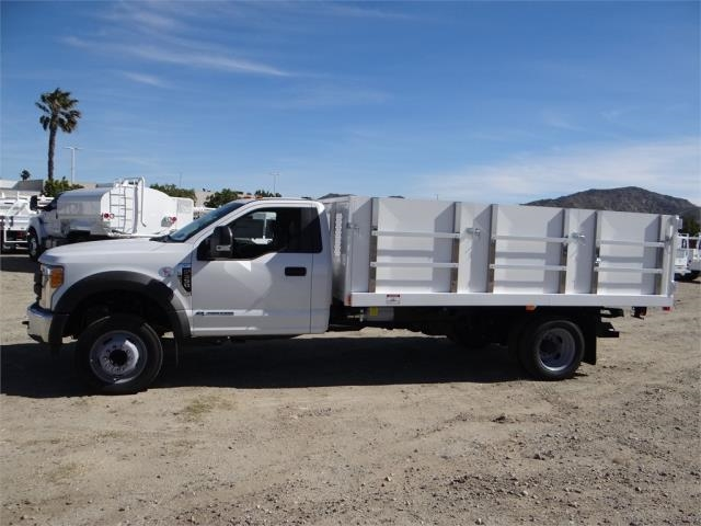 2017 F-550 Regular Cab DRW, Harbor Landscape Dump #FH6300 - photo 3