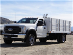 2017 F-550 Regular Cab DRW, Harbor Landscape Dump #FH6300 - photo 1