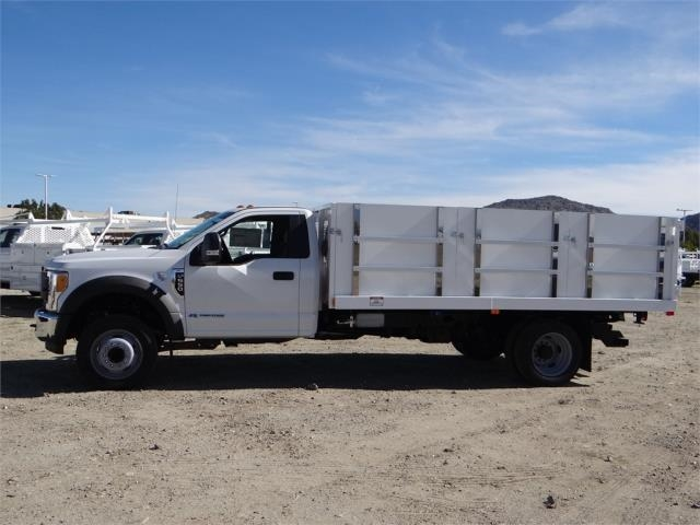2017 F-550 Regular Cab DRW 4x2,  Harbor Landscape Dump #FH6301 - photo 3