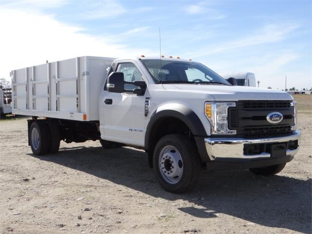 2017 F-550 Regular Cab DRW 4x2,  Harbor Landscape Dump #FH6301 - photo 6