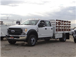 2017 F-450 Crew Cab DRW, Scelzi Stake Bed #FH6312 - photo 1