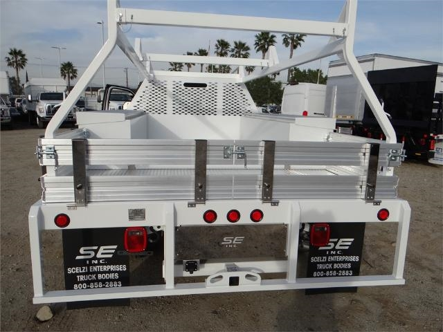 2017 F-550 Crew Cab DRW, Scelzi Contractor Flatbed Contractor Body #FH6316 - photo 9