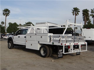 2017 F-550 Crew Cab DRW, Scelzi Contractor Flatbed Contractor Body #FH6316 - photo 2