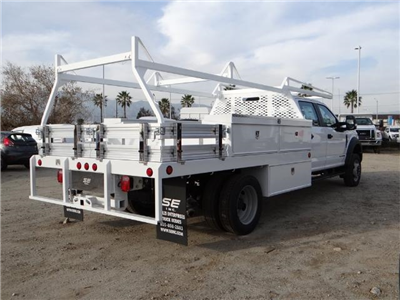 2017 F-550 Crew Cab DRW, Scelzi Contractor Flatbed Contractor Body #FH6316 - photo 4
