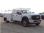 2017 F-550 Crew Cab DRW, Scelzi Contractor Flatbed Contractor Body #FH6316 - photo 6