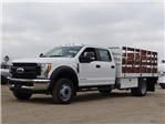 2017 F-450 Crew Cab DRW, Scelzi Stake Bed #FH6370 - photo 1