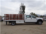 2017 F-450 Crew Cab DRW, Scelzi Western Flatbed Stake Bed #FH6370 - photo 5