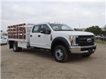2017 F-450 Crew Cab DRW, Scelzi Western Flatbed Stake Bed #FH6370 - photo 6