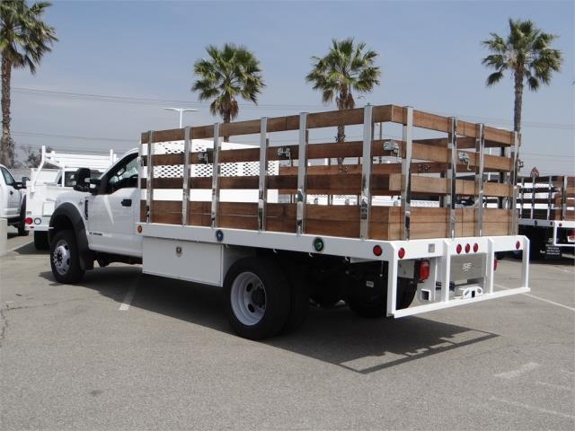 2017 F-450 Regular Cab DRW, Stake Bed #FH6441DT - photo 2