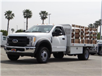 2017 F-450 Regular Cab DRW, Stake Bed #FH6441DT - photo 1