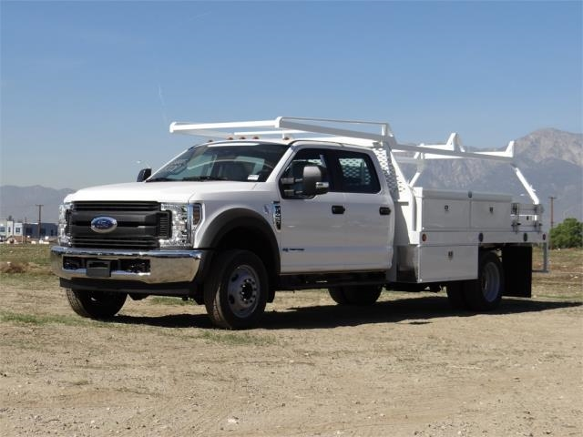 2018 F-450 Crew Cab DRW, Scelzi Contractor Flatbed Contractor Body #FJ1957 - photo 1