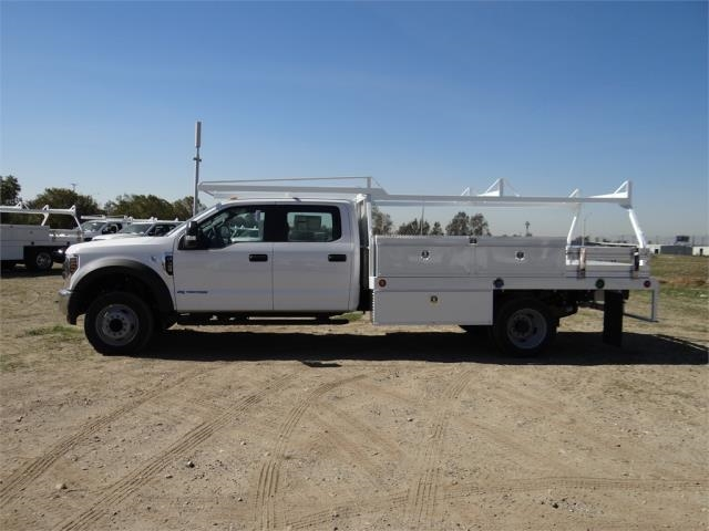 2018 F-450 Crew Cab DRW, Scelzi Contractor Flatbed Contractor Body #FJ1957 - photo 3