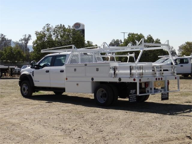 2018 F-450 Crew Cab DRW, Scelzi Contractor Flatbed Contractor Body #FJ1957 - photo 2