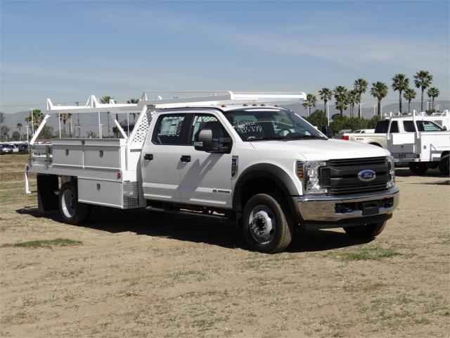 2018 F-450 Crew Cab DRW, Scelzi Contractor Flatbed Contractor Body #FJ1957 - photo 6