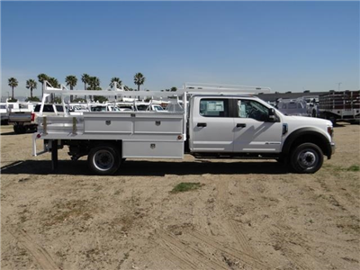 2018 F-450 Crew Cab DRW, Scelzi Contractor Flatbed Contractor Body #FJ1957 - photo 5