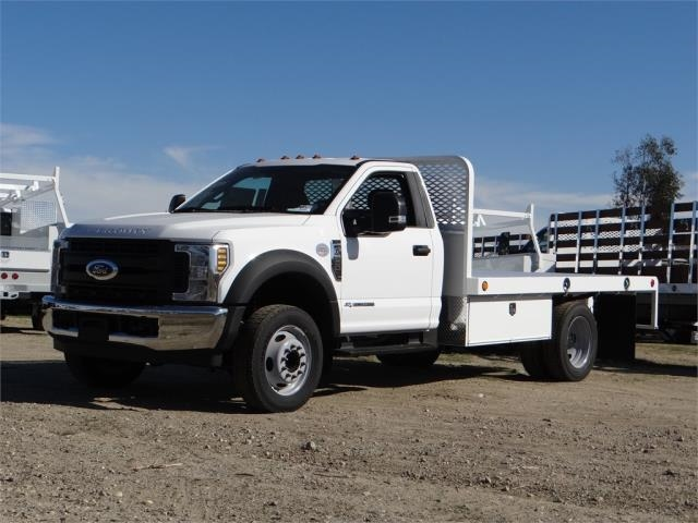 2018 F-550 Regular Cab DRW, Scelzi Western Flatbed #FJ1989 - photo 1