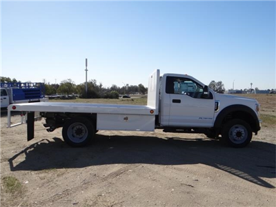 2018 F-550 Regular Cab DRW, Scelzi Western Flatbed #FJ1989 - photo 5