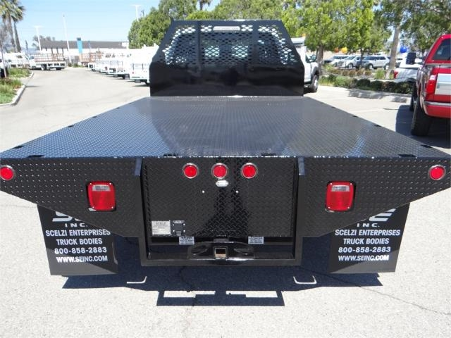 2018 F-450 Regular Cab DRW, Scelzi Contractor Flatbed Contractor Body #FJ2082 - photo 9