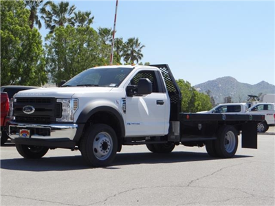 2018 F-450 Regular Cab DRW, Scelzi Contractor Flatbed Contractor Body #FJ2082 - photo 1