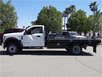 2018 F-450 Regular Cab DRW, Scelzi Contractor Flatbed Contractor Body #FJ2082 - photo 3