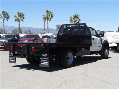 2018 F-450 Regular Cab DRW, Scelzi Contractor Flatbed Contractor Body #FJ2082 - photo 4