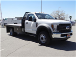 2018 F-450 Regular Cab DRW, Scelzi Contractor Flatbed Contractor Body #FJ2082 - photo 6