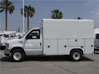 2018 E-350,  Harbor WorkMaster Service Utility Van #FJ2116 - photo 3