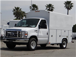 2018 E-350,  Harbor WorkMaster Service Utility Van #FJ2116 - photo 1