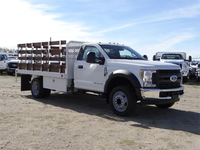 2018 F-450 Regular Cab DRW, Scelzi Western Flatbed Stake Bed #FJ2130 - photo 6