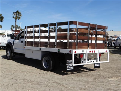 2018 F-450 Regular Cab DRW, Scelzi Western Flatbed Stake Bed #FJ2130 - photo 2