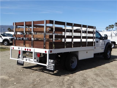 2018 F-450 Regular Cab DRW, Scelzi Western Flatbed Stake Bed #FJ2130 - photo 4