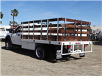 2018 F-450 Regular Cab DRW 4x2,  Scelzi Western Flatbed Stake Bed #FJ2130 - photo 2