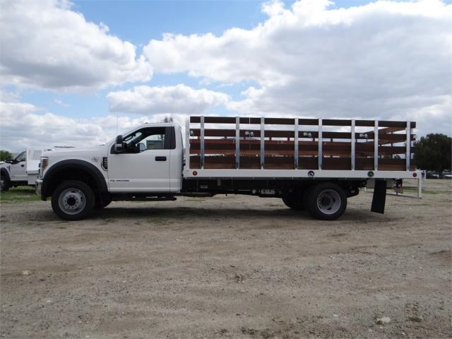 2018 F-550 Regular Cab DRW,  Scelzi Stake Bed #FJ2272 - photo 3