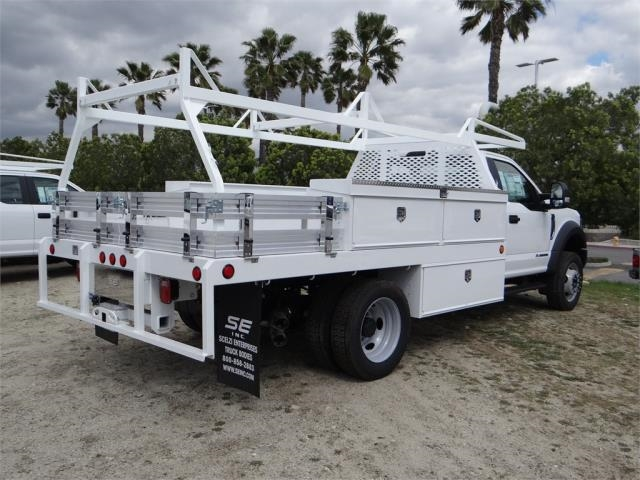 2018 F-550 Regular Cab DRW, Scelzi Contractor Body #FJ2285 - photo 4