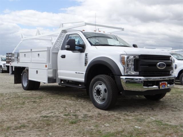 2018 F-550 Regular Cab DRW, Scelzi Contractor Body #FJ2285 - photo 6